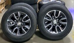 2021 Chevy Tahoe 20 Wheels With 275/60r20 Continental Tires Set Of 4