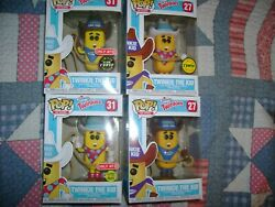 Funko Pop Lot Of 4 Twinkie The Kid Ad Icons