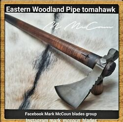 Hand Forged Eastern Woodland Pipe Tomahawk By Mark Mccoun Trekking Usa