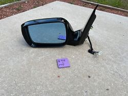 2007-2009 Acura Mdx Oem Left Driver Door Mirror Assembly 11-wire Black 918
