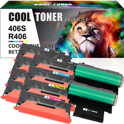 Clt 406s Toner And R406 Drum For Samsung K406s Xpress C410w C460w Clx-3305fw Lot