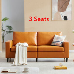 2/3 Seats Morden Style Sofaandloveseat Sets Pu Leather Couch Furniture Upholstered