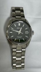 Seiko Sarb033 Black Watch 38mm Used, Box + Papers Made In Japan, Discontinued