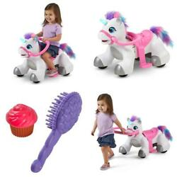 Rideamals Unicorn Ride-on Toy By Kid Trax 6-volt Toddler Powered