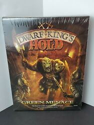 Dwarf Kingand039s Hold - Green Menace - Standalone Expansion - Factory Sealed