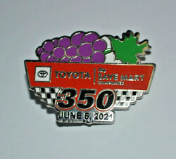 2021 Toyota / Save Mart 350 Event Hat Pin Sonoma Official Nascar Kyle Larson