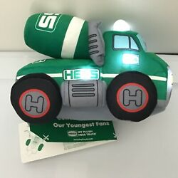 2021 Hess My First Plush Cement Mixer Truck New In Sealed Box Nib