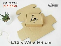 Small Packaging Box For Soap Candy Jewelry Kraft Paper Birthday Party Gift Boxes