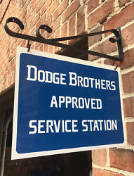 Dodge Brothers Approved Service Station Sign And Bracket. Classic Db Design.
