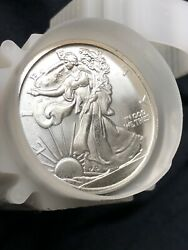 🦅lot Of 20 Each 1oz 999 Fine Silver Walking Liberty American Eagle Rounds
