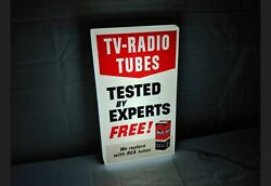 Vintage Rca Tv Radio Tube Tested By Experts We Replace With Rca Tubes Lighted...