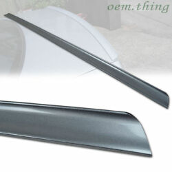 2012 Fit For Audi A5 Rear Boot Trunk Lip Spoiler 2dr Coupe Painted Ly7g