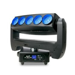Elation Professional Zcl 360 Bar Moving Zoom Bar Effect 5x 60w Rgbw Leds Moving