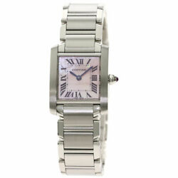 Tank Francaise Sm Watches W51208q3 Stainless Steel/stainless Steel L...