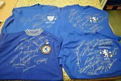 Chelsea Hand Signed 1954/55 First Division65 League Cup70 Fa Cup71 European C
