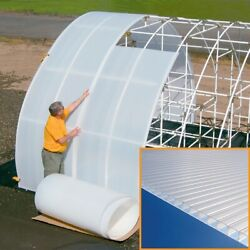 Solexx Xp Greenhouse Covering Roll 3.5mm Thick 49.5 Wide X 400 Ft Roll
