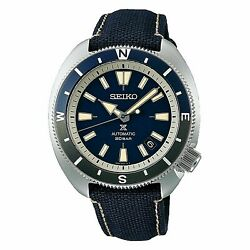 Seiko Srpg15 Land Tortoise Japan Watch Blue Compass Stainless 200m Automatic