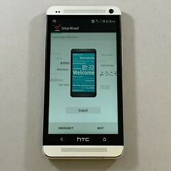New Other Htc One M7 Verizon 32gb Htc6500l Silver 4g Lte Android Smartphone