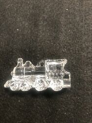 Waterford My First Train Childhood Memories Crystal Christmas Ornament