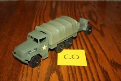 Timmee Processed Plastic 2.5-ton Army Truck And Tarp And Cannon Co - Marx, Mpc