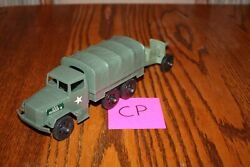 Timmee Processed Plastic 2.5-ton Army Truck And Tarp And Cannon Cp - Marx, Mpc