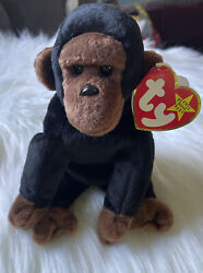 1996 Retired Beanie Baby Congo The Gorilla-p .e.pellets Chinese