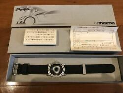 Original Mazda Rotary Watch - History Of Rx7 - Made In Japan Rx8 Fc Fd Initial D