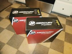 New Pair Mercrusier Bravo 3 Props 3and4 Blade 24 Pitch