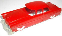 Lionel Ho 0068-3 Executive Inspection Red Car Body With Gray Bumpers