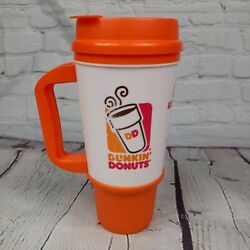 Dunkin Donuts Insulated Coffee Cup Travel Mug With Lid Whirley Drink Works 24 Oz