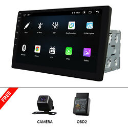 Obd+cam+10.1 2din Android 10 Touch Screen Wifi 4g+64g Car Stereo Radio Gps Wifi