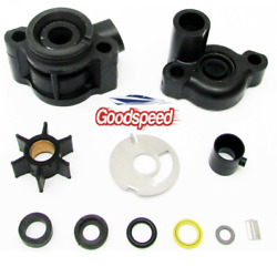 Water Pump Impeller Kit Mercury 4 4.5 7.5 9.8 Hp And Model 110 46-70941a3 18-3446