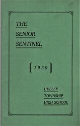 1939 Senior Sentinel - Hubley Township High School Yearbook - Valley View, Pa