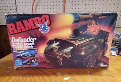 Vintage Rambo Coleco 6x6 Defender Misb Sealed 1986 Vehicle Assault Toy - Freedom