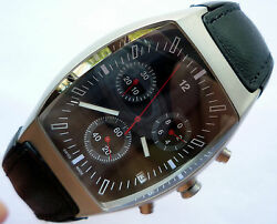 Bmw Collection Car Accessory Business Classic Design Sport Chronograph Watch