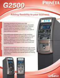 atm Machine With Processing