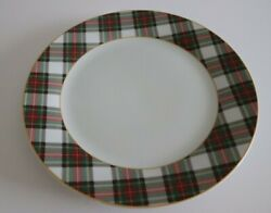 Set Of 2 China Skyler Dinner Plate Discontinued Pattern