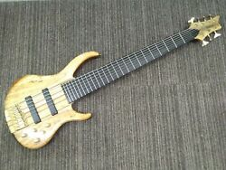 Tanatos Kfb7-120spu 2011120019 Electric Bass W/soft Case Ships Safely From Japan