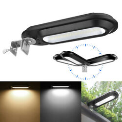 Commercial 18 Led Solar Street Light Ip55 Waterproof Dusk To Dawn Lamp Outdoor