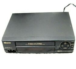 Memorex Vcr Mvr4046 Vhs Hq Video Cassette Recorder 4 Head Tested Works
