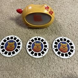 Disney Winnie The Pooh And The Honey Tree View-master Character Viewer And 3 Reels