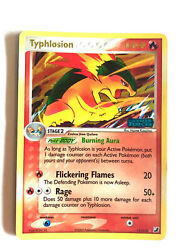 Pokemon Typhlosion Holo 17/115 Ex Unseen Forces Super Rare 2005