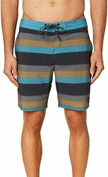 Oand039neill Menand039s Water Resistant Stretch Volley Swim Boardshorts 18 Inch Outseam