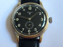 German Air Force Wagner Wwii Military Watch For Luftwaffe Pilots Urofa 58