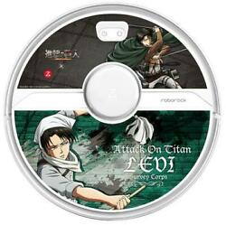 Roborock S6 Pure Attack On Titan Leviand039s Soldier Model Robot Vacuum Cleaner