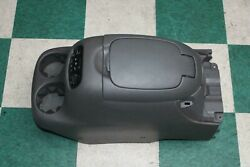 01-07 Sequoia Limited Gray Front Floor Center Console Assembly Oem Factory