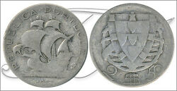 Portugal - Coins Circulation- Year 1937 - Number Km00580-37 - Bc- 2,50 Escudos