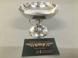 Stunning Edwardian Hm Silver Comport In The Arts And Crafts Style Birmingham 1908