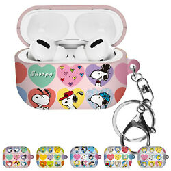 Willbee Heart Pattern For Airpods Pro Case Keychain Key Ring Hard Cover
