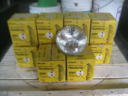 Nos 4001 Philips Westinghouse Headlamp 2 Lugs 12volts High Beam